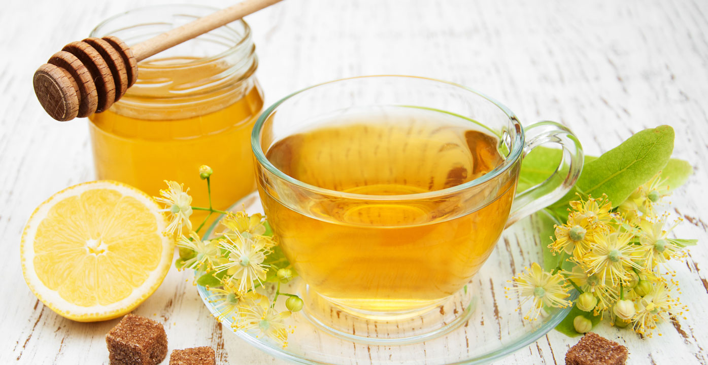 Green tea with lemon and honey for Weight management