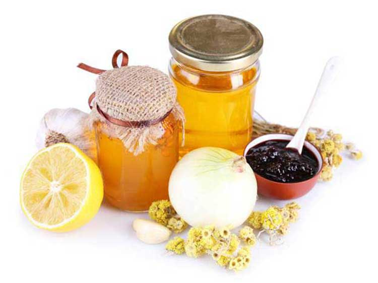 Cold remedies with honey