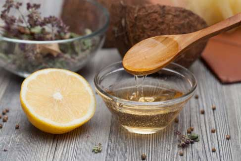 Castor Oil and Honey Hair Mask