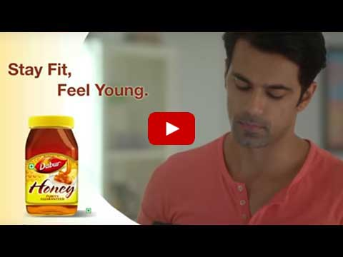 Stay fit with Pure Honey by Dabur
