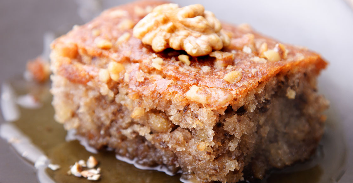 Honey Walnut Cake