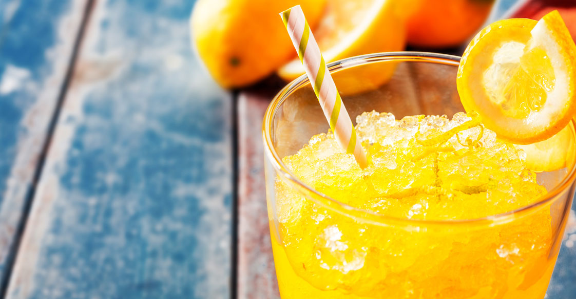 Recipe for Banana & Orange Slushy with Honey