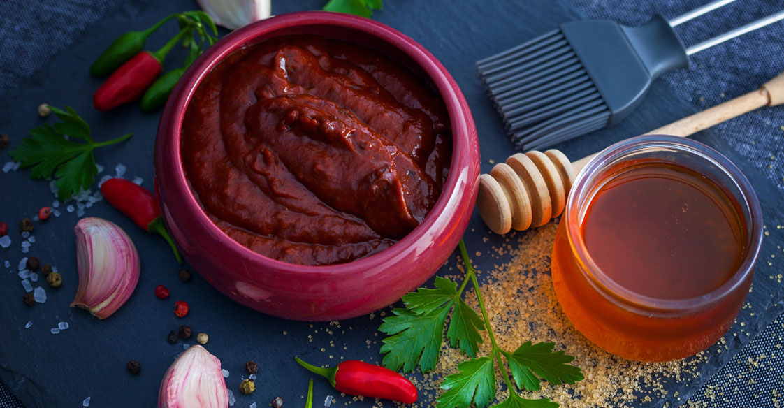 Learn how to make a honey barbecue sauce