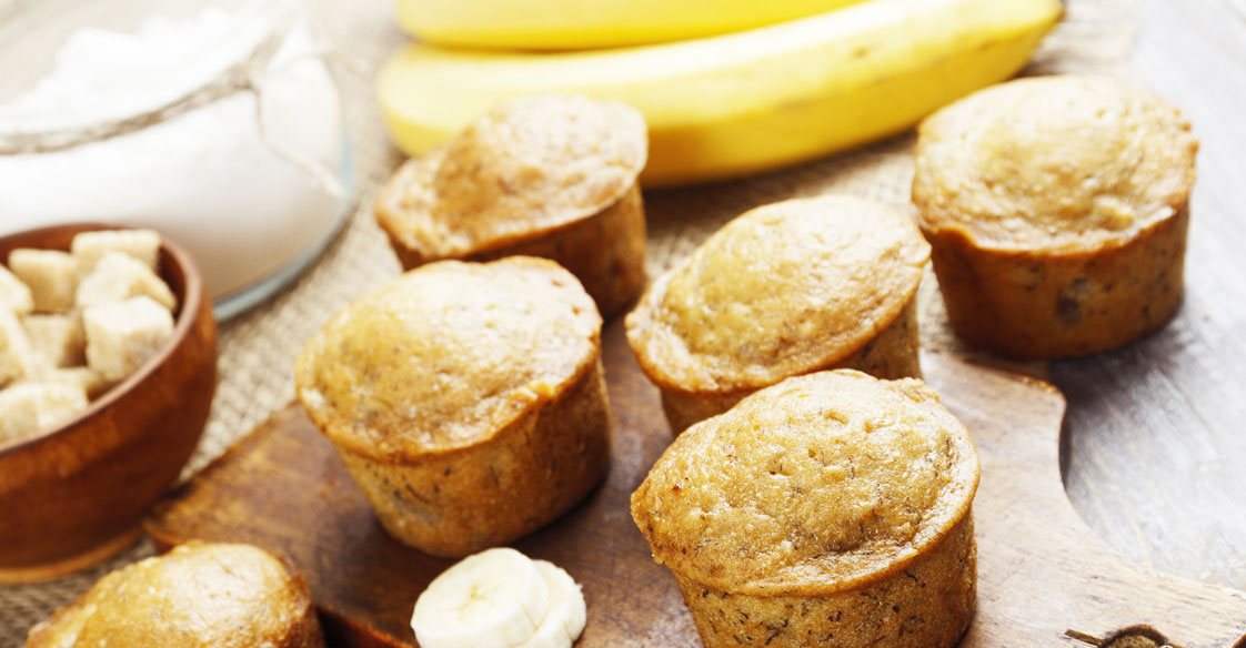 BANANA HONEY MUFFINS