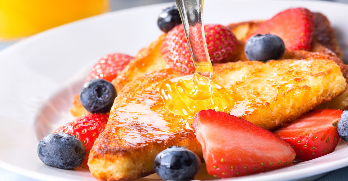 Honey on French Toast Recipe