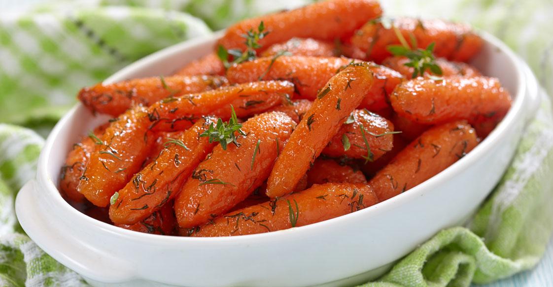 Watch Honey-Ginger Glazed Carrots video