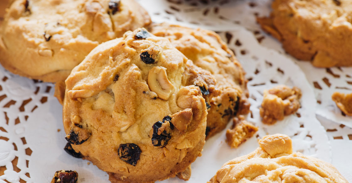 Honey and Raisin Scones
