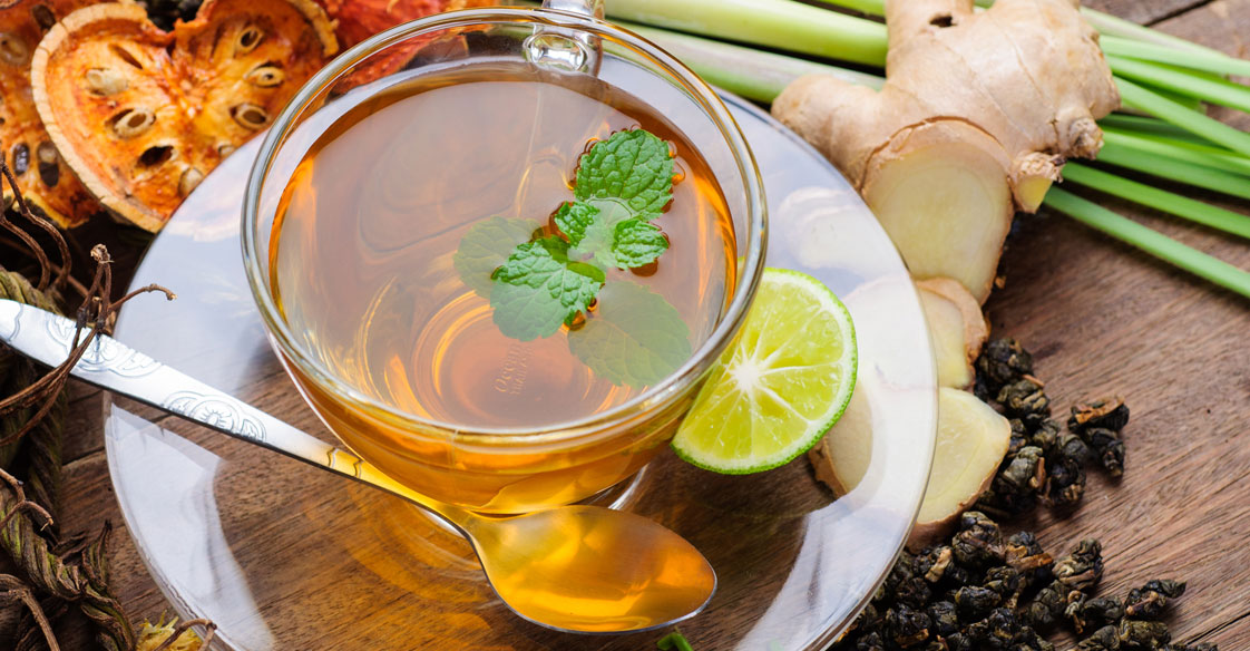 Honey and Ginger Lemongrass Green Tea